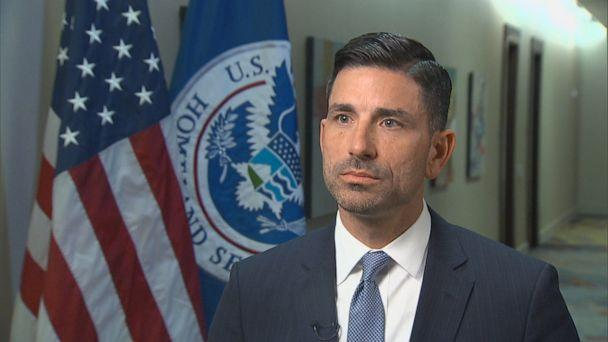 PHOTO: Acting Department of Homeland Security Secretary Chad Wolf is interviewed by ABC News. (ABC News)