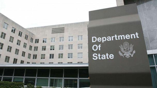 PHOTO: A sign for the Department of State sits outside the Harry S. Truman Building in Washington, Nov. 30, 2010. (Sipa/Shutterstock, FILE)