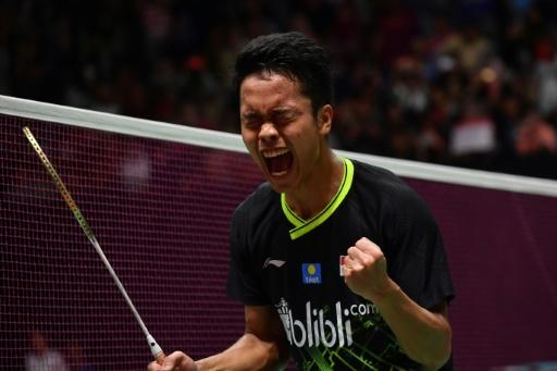 Indonesian shuttler Anthony Sinisuka Ginting beat defending champion Anders Antonsen to claim the Indonesia Masters title