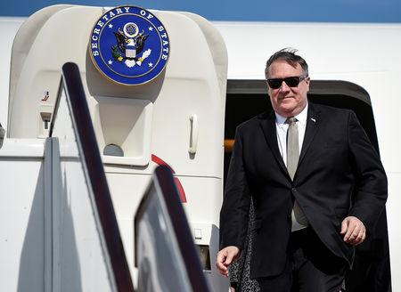 FILE PHOTO: U.S. Secretary of State Pompeo visits Bahrain