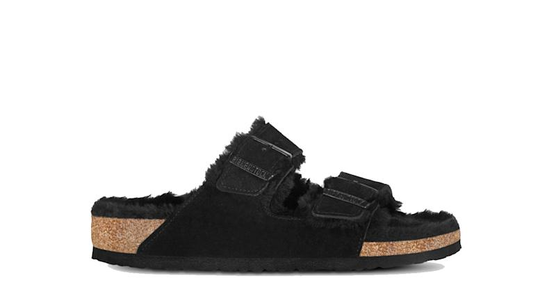 Arizona Suede Sheepkin Sandals
