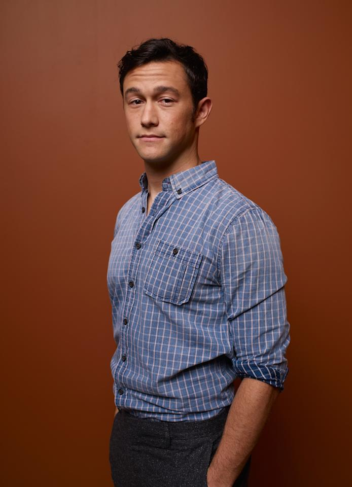 "TORONTO, ON - SEPTEMBER 06:  Actor/Producer Joseph Gordon-Levitt of ""Looper"" poses at the Guess Portrait Studio during 2012 Toronto International Film Festival on September 6, 2012 in Toronto, Canada.  (Photo by Matt Carr/Getty Images)"