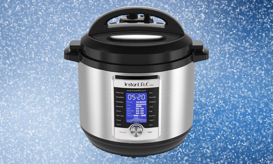 In the market for an Instant Pot? This model comes with rave reviews. (Photo: Amazon)