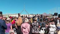 Australia: Women protest against sexual violence and inequality