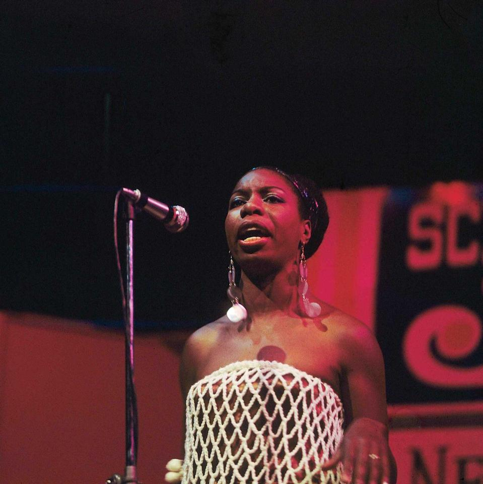 <p><strong>Nina Simone </strong></p><p>Nina Simone was born in Tyron, North Carolina, the sixth of eight children. Initially aspiring to be a concert pianist, she enrolled in Juilliard School of Music in New York City. She played at nightclubs in Atlantic City to make money, since then releasing more than 40 albums. Her style fuses gospel and pop with classical music, a trailblazer at heart.</p>