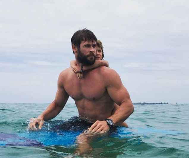 Chris' body is only a by-product of a holistic fitness approach says Da Rulk. Photo: Instagram/chrishemsworth