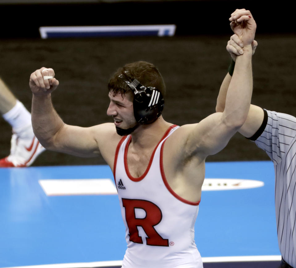 Best sport: wrestling. Trajectory: up. Look out for the Scarlet Knights! Well, relatively speaking. Rutgers vaulted up 25 spots from 2017-18, the second-biggest year-over-year increase among the Power Five. Wrestling, field hockey and women's rowing may not excite the fan base, but Rutgers is finding a few niches of success.
