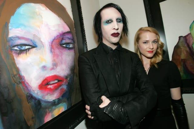 Marilyn Manson Opens Art Gallery on Halloween
