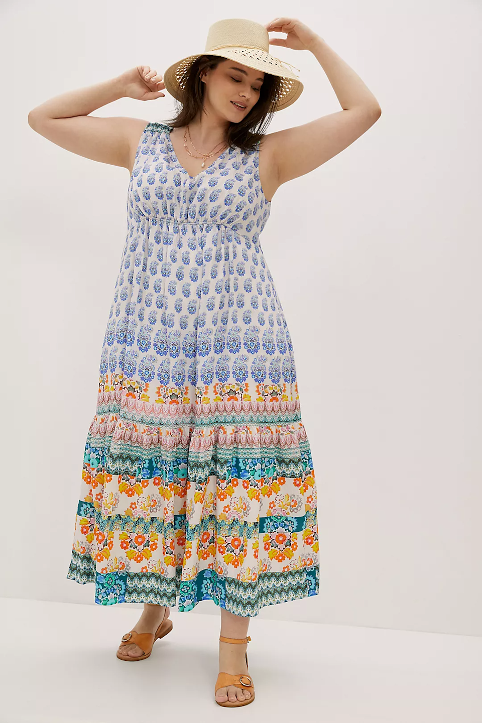 """<br><h2>Anthropologie Gathered Maxi Dress<br></h2><br><strong>Sizes Available: 1X-3X</strong><br><br><em>Shop <strong><a href=""""https://www.anthropologie.com/shop/gathered-maxi-dress?color=015&type=PLUS&quantity=1"""" rel=""""nofollow noopener"""" target=""""_blank"""" data-ylk=""""slk:Anthropologie"""" class=""""link rapid-noclick-resp"""">Anthropologie</a></strong></em><br><br><br><br><strong>Anthropologie</strong> Gathered Maxi Dress, $, available at <a href=""""https://go.skimresources.com/?id=30283X879131&url=https%3A%2F%2Fwww.anthropologie.com%2Fshop%2Fgathered-maxi-dress"""" rel=""""nofollow noopener"""" target=""""_blank"""" data-ylk=""""slk:Anthropologie"""" class=""""link rapid-noclick-resp"""">Anthropologie</a>"""