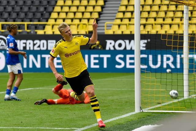 City have been linked with a big-money move for Dortmund's Erling Haaland