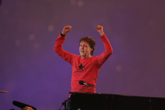 2005: Paul McCartney. (Photo by Sporting News via Getty Images/Sporting News via Getty Images via Getty Images)