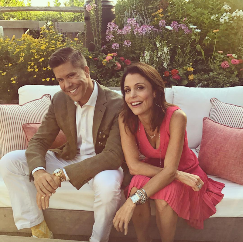 Bethenny and Fredrik have recently visited The Hamptons to break into the property market there. Source: Instagram/fredrikeklund