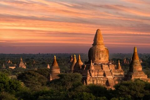 The temples of Bagan - Credit: getty