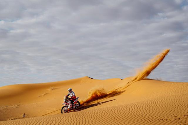 "#18 BAS Dakar KTM Racing Team: Ross Branch <span class=""copyright"">A.S.O. </span>"