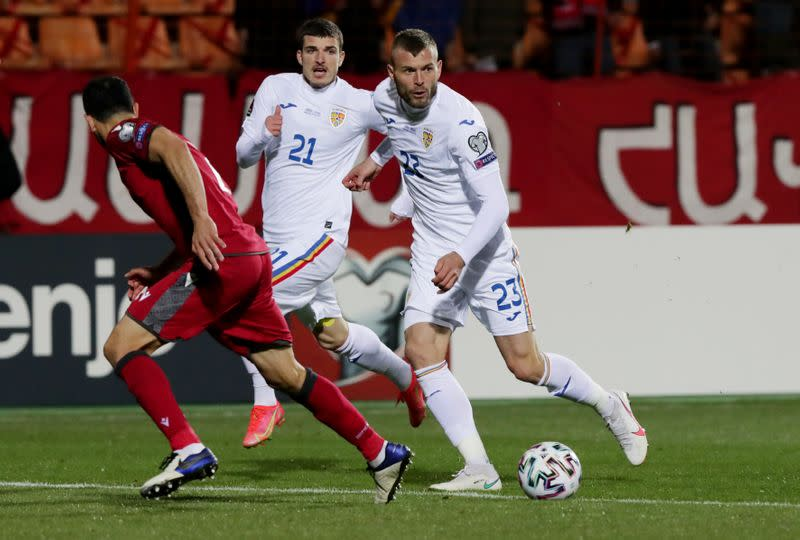 World Cup Qualifiers Europe - Group J - Armenia v Romania