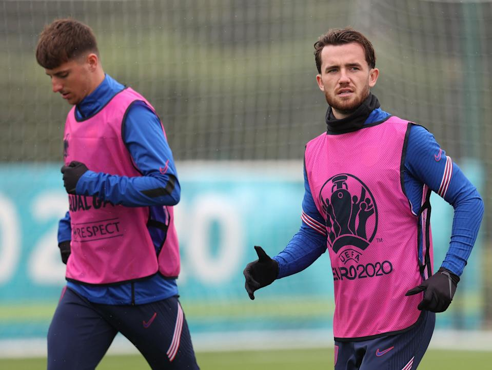 England pair Mason Mount and Ben Chilwell (Getty Images)