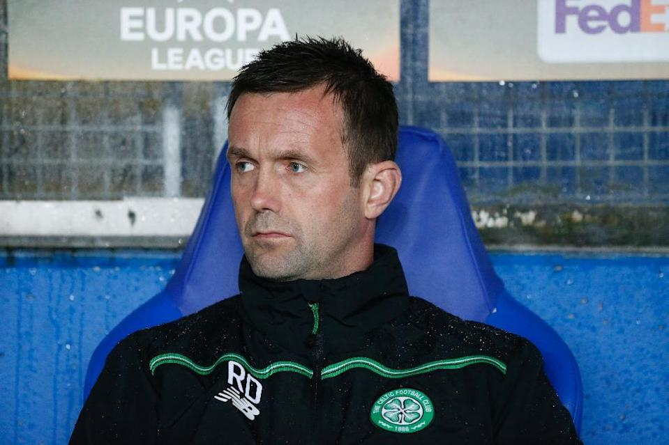 """""""There is so much talent here and it is great to let these guys have the opportunity,"""" departing Celtic manager Ronny Deila said (AFP Photo/Svein Ove Ekornesvaag)"""