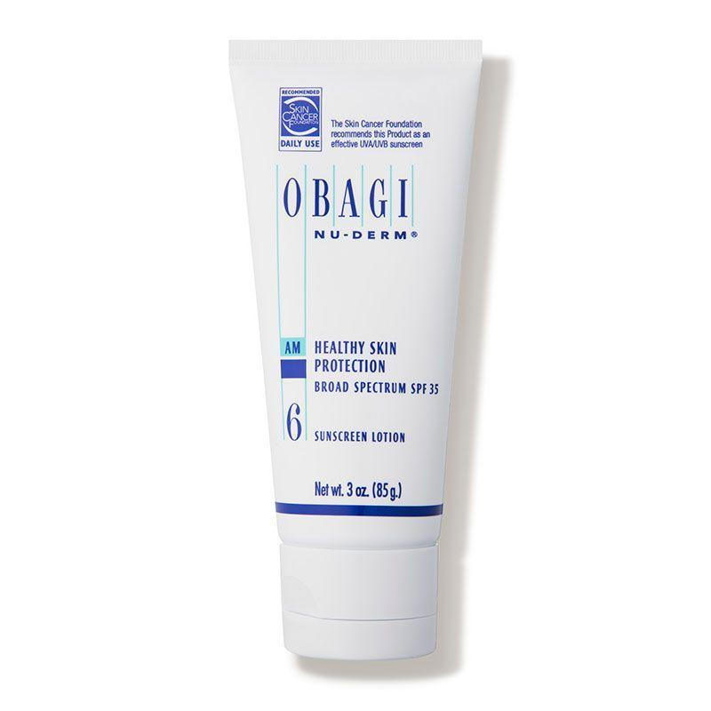 "<p><strong>Obagi</strong></p><p>dermstore.com</p><p><strong>$45.05</strong></p><p><a href=""https://go.redirectingat.com?id=74968X1596630&url=https%3A%2F%2Fwww.dermstore.com%2Fproduct_NuDerm%2BHealthy%2BSkin%2BProtection%2BSPF%2B35_1780.htm&sref=https%3A%2F%2Fwww.countryliving.com%2Fshopping%2Fg33539245%2Fdermstore-anniversary-sale%2F"" rel=""nofollow noopener"" target=""_blank"" data-ylk=""slk:Shop Now"" class=""link rapid-noclick-resp"">Shop Now</a></p><p><em>Originally $53</em> </p><p>Protect your skin every time you leave the house with this broad-spectrum SPF 35 sunscreen. Ideal for sensitive and acne-prone skin.</p>"