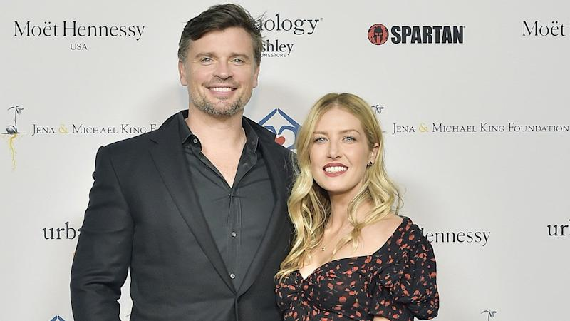 Tom Welling Weds Longtime Love Jessica Rose Lee