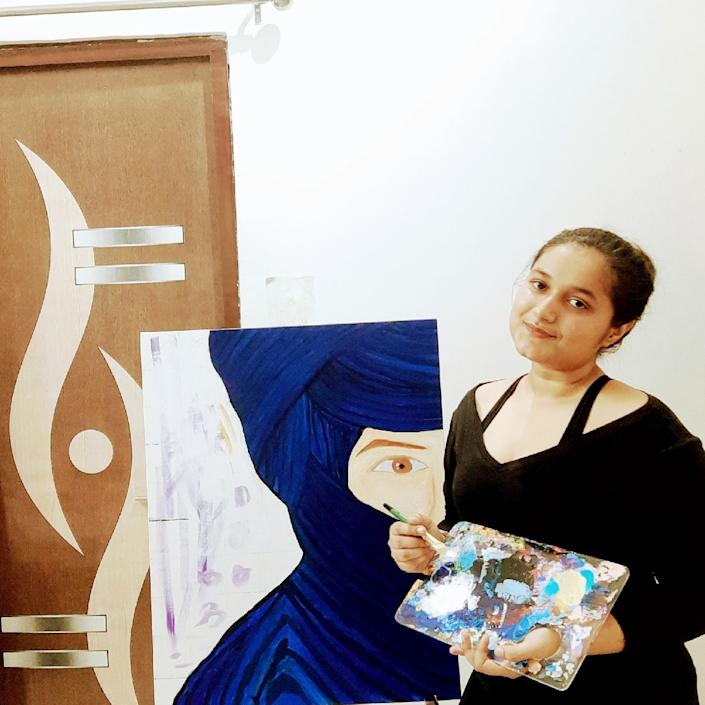 Through Breathe and Bliss, Sharma is able to channel her creative energy while also working as a psychologist.