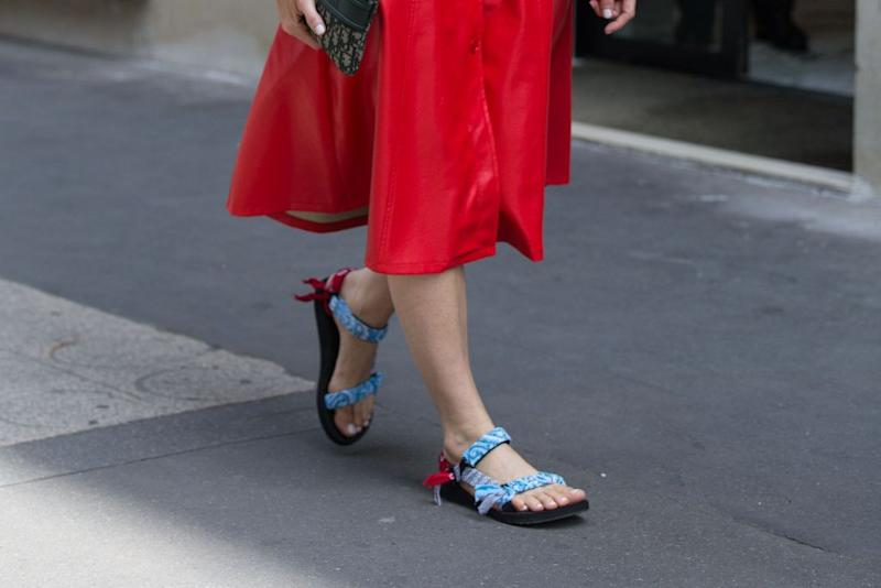 It's New York Fashion Week — But All I Want to Wear Are My Tevas