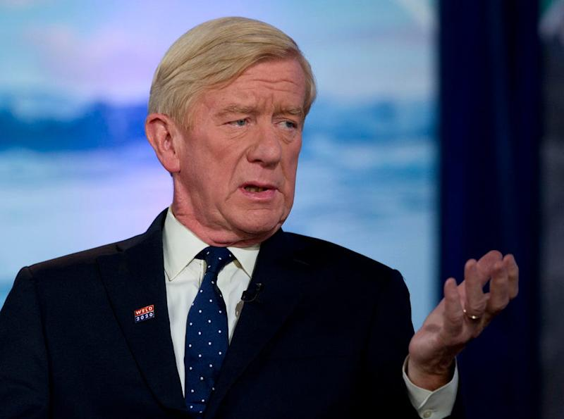 GOP challenger Bill Weld says Trump committed 'treason,' mentions death penalty
