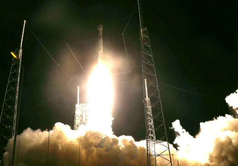 The Atlas V rocket carrying the Starliner capsule lifted off normally from Cape Canaveral, Florida, but a clock problem prevented the capsule from reaching the International Space Station (AFP Photo/JOE RAEDLE)
