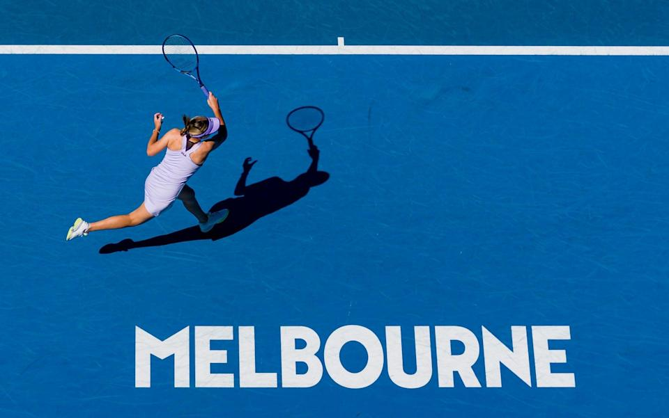 Action is underway in Melbourne - GETTY IMAGES