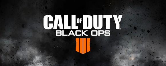 The logo for Call of Duty Black Ops 4.