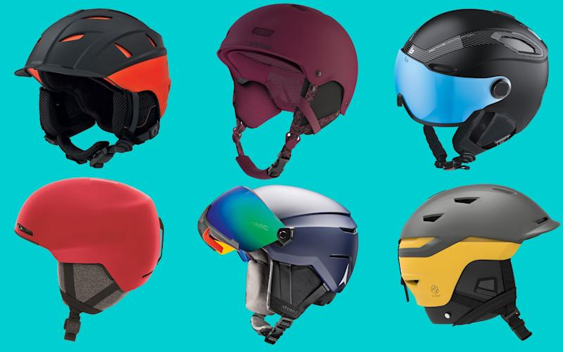 Stay safe on the mountain this season with the latest helmets