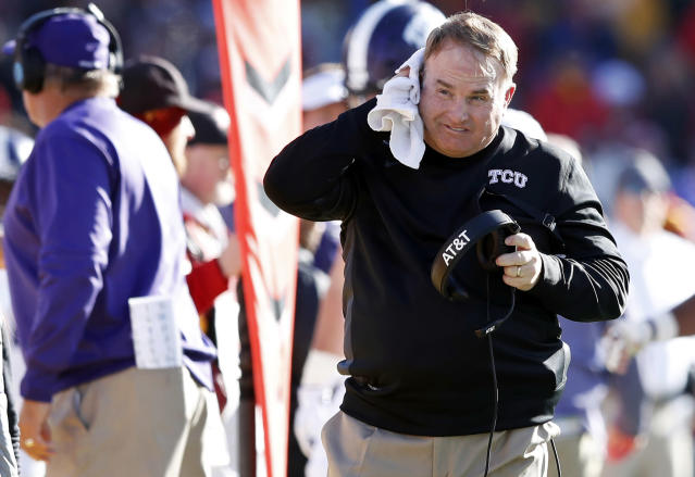 TCU is looking to rebound after a loss in Ames last weekend. (AP Photo/Charlie Neibergall, File)