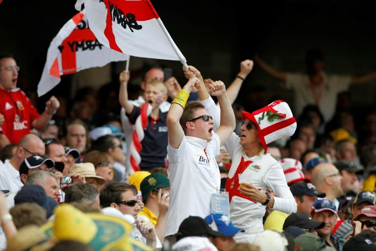 England's 'Barmy Army' supporters in full cry at the Gabba in 2010. But they will not be there in such huge numbers this week after receiving just 200 tickets for each day's play