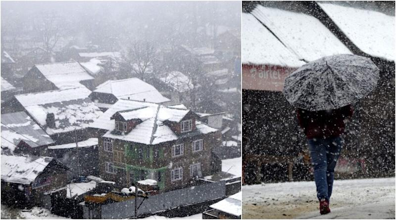 Kashmir Receives Early Snowfall! See Gorgeous Pictures of the Valley Drenched in a Carpet of Snow