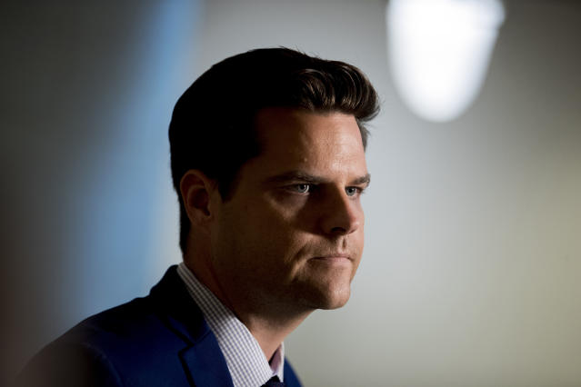 Rep. Matt Gaetz. (Photo: Andrew Harnik/AP)