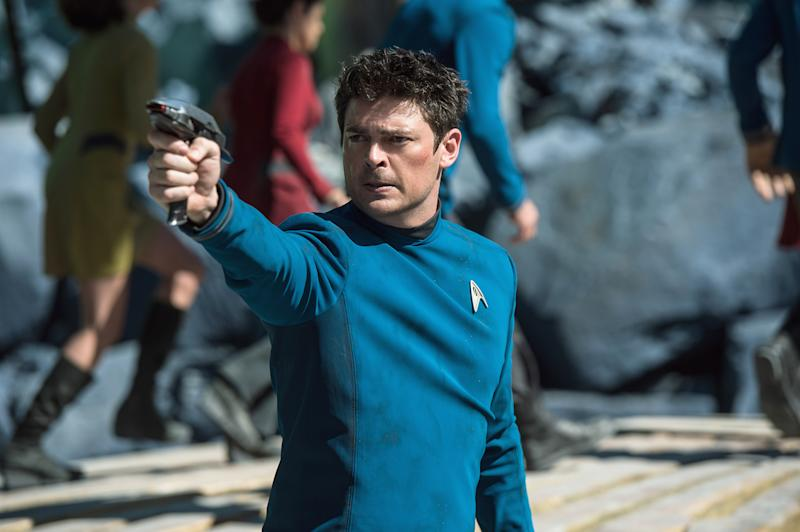 Tarantino's star trek karl urban