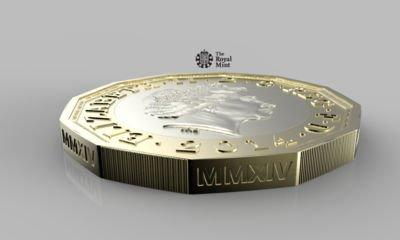 New super-secure £1 coins 'losing their middle part'