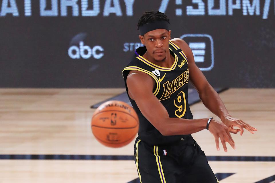 Rajon Rondo's championship contributions are already generating more free-agency interest for the former All-Star. (Mike Ehrmann/Getty Images)