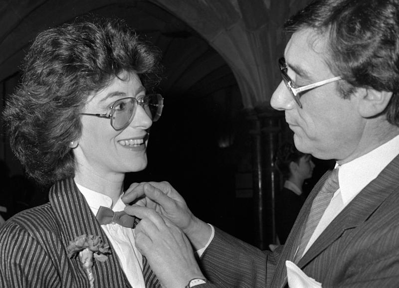 Jack Rosenthal and Maureen Lipman (Photo by PA Images via Getty Images)