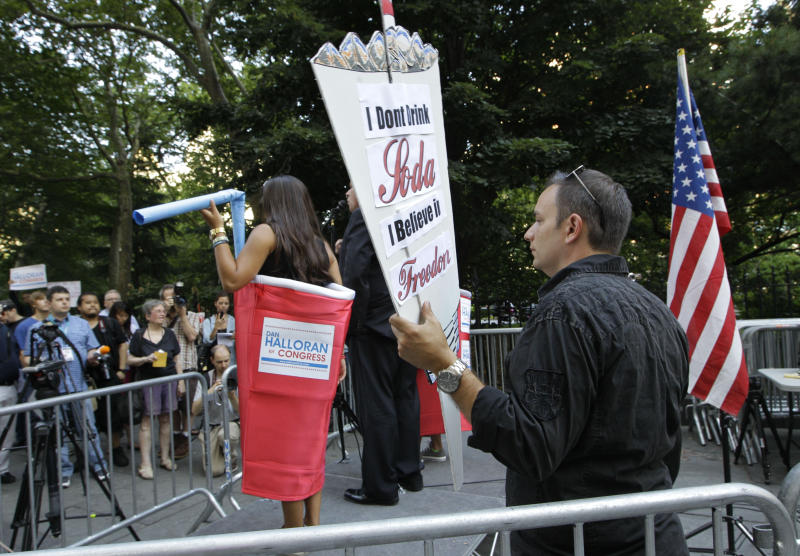 NYC rally against proposed super-sized drinks ban