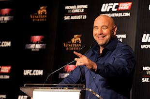 UFC president Dana White was wrong to have gone on television to defend Chael Sonnen. (Jayne Russell/Getty Images)