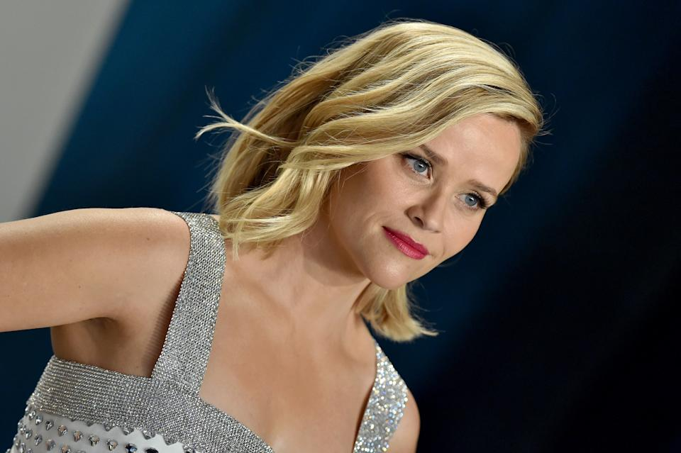 Reese Witherspoon attends the 2020 Vanity Fair Oscar Party hosted by Radhika Jones at Wallis Annenberg Center for the Performing Arts on February 09, 2020 in Beverly Hills, California. (Photo by Axelle/Bauer-Griffin/FilmMagic)