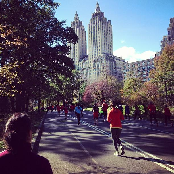 Amazing views during the #unofficial #nycmarathon