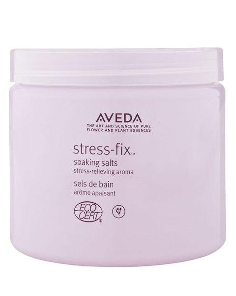 <p>If you're in your feelings, try soaking the stress away with aromatic salts. Aveda's is a mix of lavender, lavandin, and clary sage essences — all known for soothing the mind. </p>