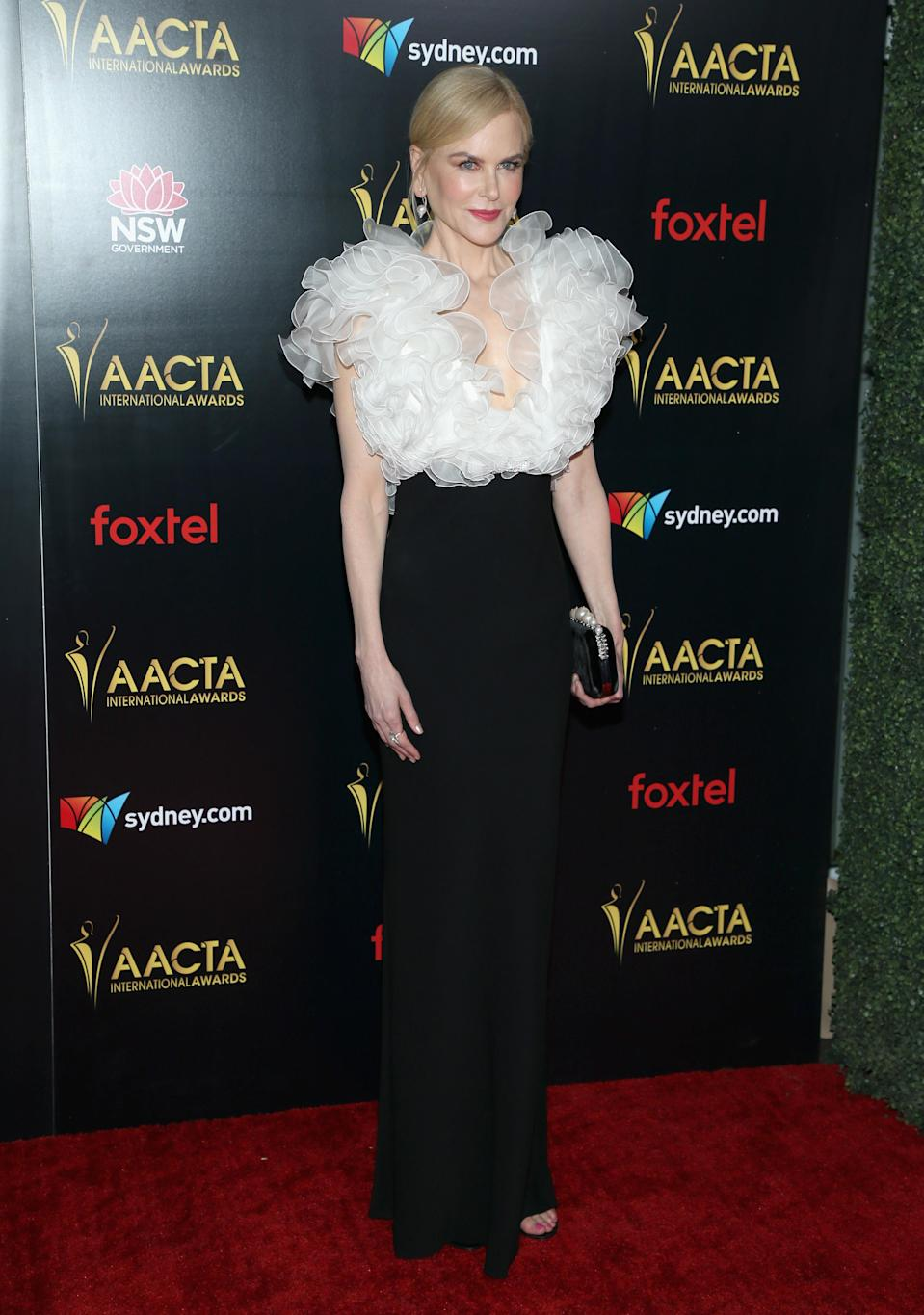 <p>Nicole Kidman was one of the big names who turned up at the Mondrian Hotel in Los Angeles for the bash. Photo: Getty </p>