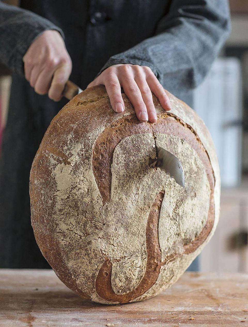 """<p>There's no better place in Paris for a tartine, or open-faced sandwich, than <a href=""""https://www.poilane.com"""" rel=""""nofollow noopener"""" target=""""_blank"""" data-ylk=""""slk:Comptoir Poilâne"""" class=""""link rapid-noclick-resp"""">Comptoir Poilâne</a> in the heart of the 6th arrondissment and housed in an annex to the world-renowned bakery Poilâne. Here, you can lunch on a long slab of miche (the sourdough precursor to the French baguette) with a classic topping of smoked salmon and dill—or an utterly contemporary version, with lacto-fermented vegetables and Roquefort (perhaps with a side of miso soup dotted with grains), or, a favorite of mine, thinly sliced Wagyu beef with honey mustard. Apollonia Poilâne's menu couldn't be more of-the-moment, but the extraordinary bread is still made downstairs in the wood-fired oven that her father and grandfather used long before she was born. </p>"""