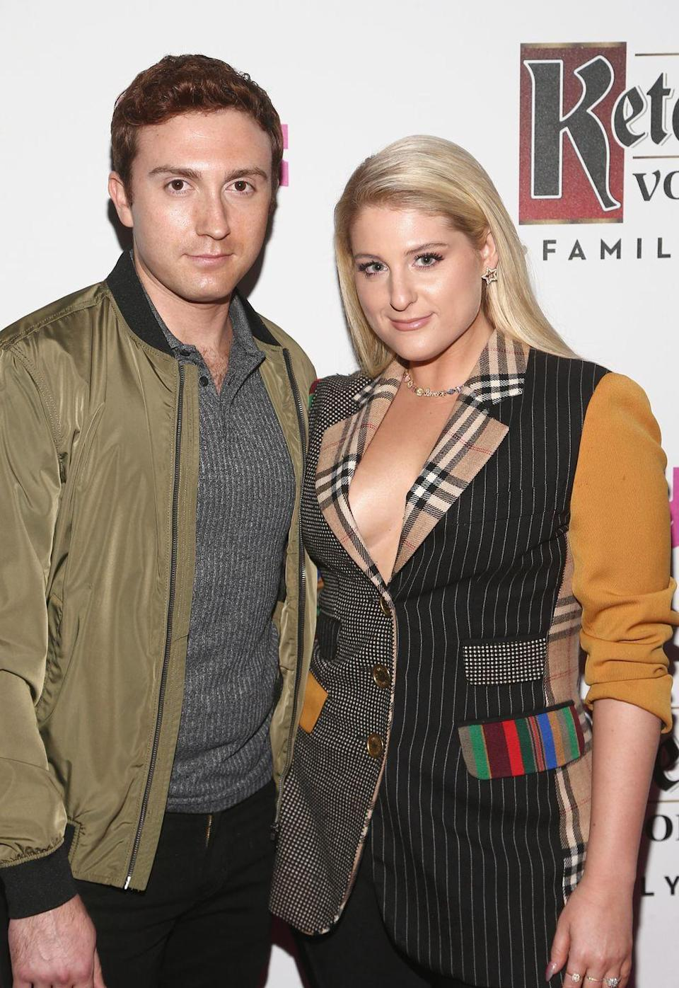 "<p>Trainor credits the good taste of her friend Chloë Grace Moretz for helping her find love with actor Daryl Sabara.</p><p>""[Chloë] is a friend of mine, and day one of meeting her, I was like, 'You know anybody that I could date?'"" she <a href=""https://people.com/music/meghan-trainor-boyfriend-daryl-sabara-introduced-by-chloe-grace-moretz/"" rel=""nofollow noopener"" target=""_blank"" data-ylk=""slk:said"" class=""link rapid-noclick-resp"">said</a> on Chelsea Handler's Netflix series. ""And she's like, 'I know the nicest guy in the world, Daryl, and you should meet him!'""<br></p>"