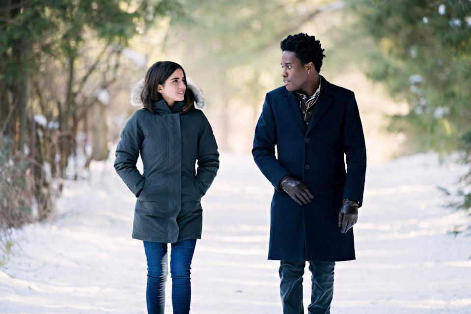 """<p><strong>Let It Snow</strong> is adapted from a <strong>New York Times</strong> bestselling YA book and follows a group of high-school friends whose Midwestern town is hit by a massive snowstorm on Christmas Eve, resulting in their friendships and love lives colliding. Watch <a href=""""http://www.netflix.com/title/80201542"""" class=""""link rapid-noclick-resp"""" rel=""""nofollow noopener"""" target=""""_blank"""" data-ylk=""""slk:Let It Snow""""><strong>Let It Snow</strong></a> on Netflix now.</p>"""