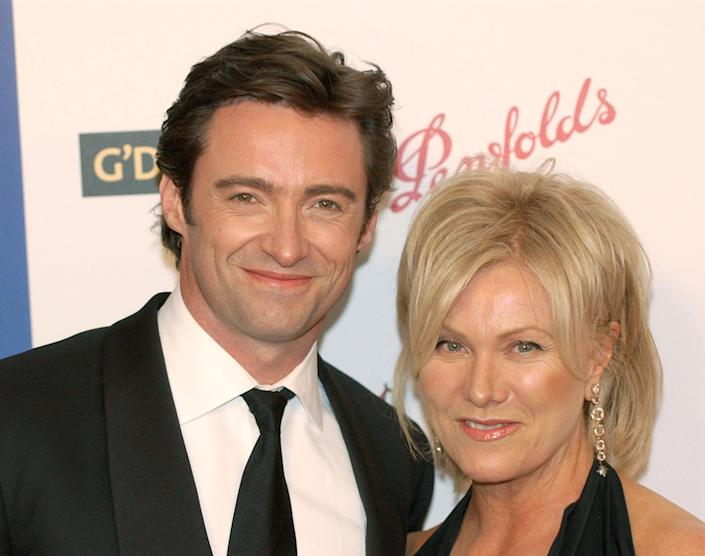 Hugh Jackman Deborra-Lee Furness at Penfolds Icon Gala G'DAY LA Australia Week 2006 Dinner, The Hollywood Palladium, Los Angeles, CA, Saturday, January 14, 2006