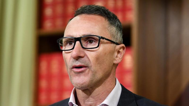 Richard Di Natale has resigned as leader of the Greens, on the eve of the return of parliament