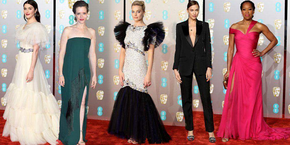 "<p>The 2019 BAFTA Film Awards was a glamorous affair, with the likes of Margot Robbie, Rachel Weisz and of course the <a rel=""nofollow"" href=""https://www.cosmopolitan.com/uk/fashion/a26274530/kate-middleton-baftas-2019-dress/"">Duchess of Cambridge</a> gracing the red carpet in some of the most stunning gowns we've seen at awards shows so far this year.</p><p>See all the best dresses worn on the night right here...</p>"